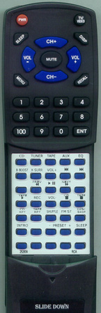 RCA 252839 Custom Built Redi Remote