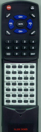 RCA 262906 076N0HG010 Custom Built Redi Remote