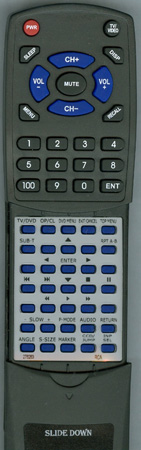 RCA 276263 076R0PF021 Custom Built Redi Remote