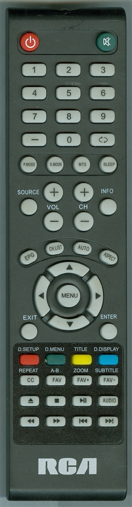 RCA 4D2 Genuine OEM original Remote