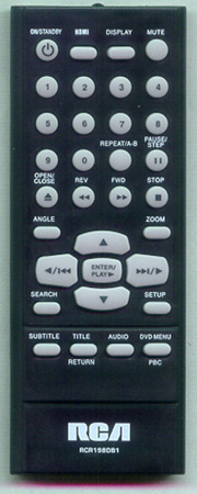 RCA RCR198DB1 Genuine  OEM original Remote