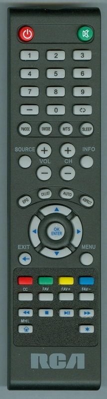 RCA RLDED3230AERK Genuine OEM original Remote