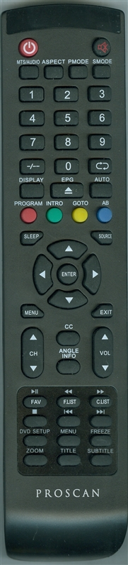 RCA RLEDV2488AC Genuine OEM original Remote