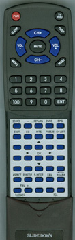 RCA RLED2431A Custom Built Redi Remote