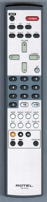 ROTEL RR-AT94 Genuine OEM original Remote
