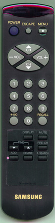 SAMSUNG 3F14-00038-112 Genuine OEM original Remote