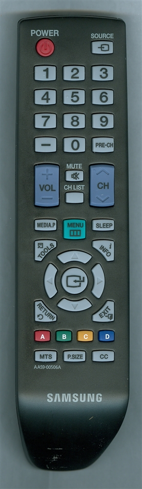 SAMSUNG AA59-00506A Refurbished Genuine OEM Remote