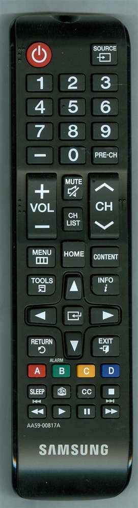 SAMSUNG AA59-00817A Refurbished Genuine OEM Original Remote