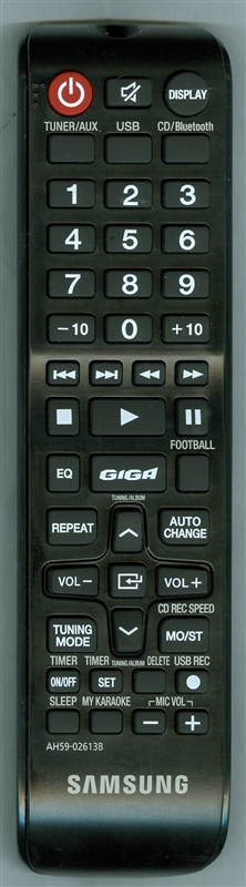 SAMSUNG AH59-02613B Genuine OEM original Remote