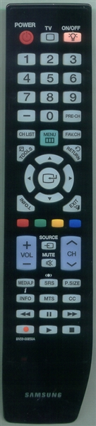 SAMSUNG BN59-00850A Refurbished Genuine OEM Original Remote