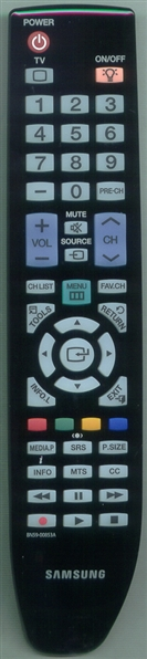 SAMSUNG BN59-00853A Refurbished Genuine OEM Original Remote