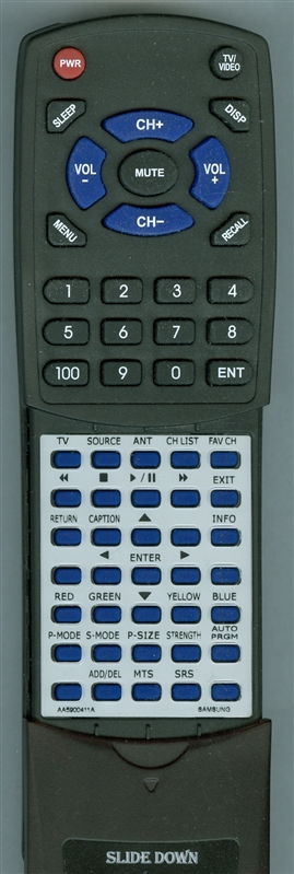 SAMSUNG AA59-00411A Custom Built Redi Remote