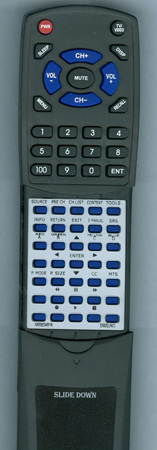 SAMSUNG AA59-00481A Custom Built Redi Remote