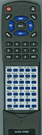 SAMSUNG AA59-00784A Custom Built Replacement Redi Remote