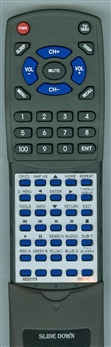 SAMSUNG AK59-00167A Custom Built Redi Remote