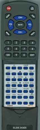 SAMSUNG BN59-00409A Custom Built Redi Remote