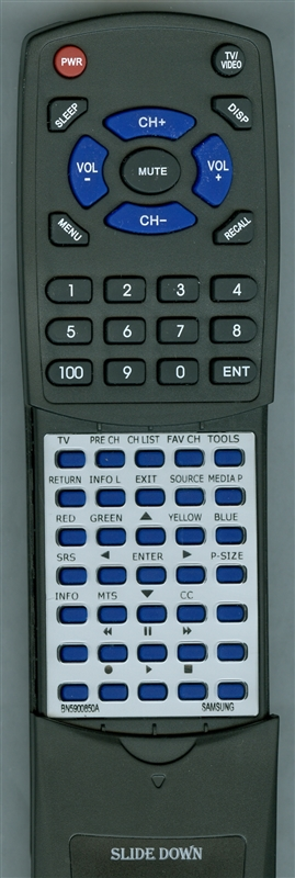 SAMSUNG BN59-00850A Custom Built Redi Remote