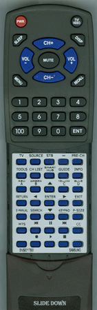 SAMSUNG BN59-01178W Custom Built Redi Remote