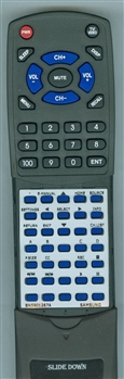 SAMSUNG BN59-01267A Custom Built Redi Remote