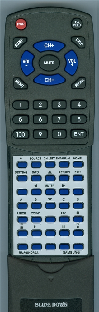 SAMSUNG BN59-01289A Custom Built Redi Remote