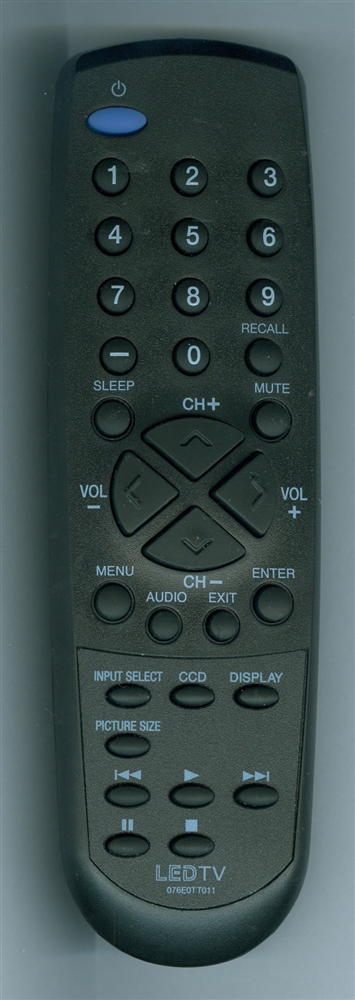 SANSUI 076E0TT011 Genuine  OEM original Remote