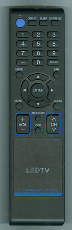 SANSUI 076R0RF021 Genuine OEM original Remote