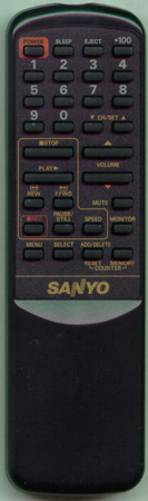 SANYO UREMT32MM003 Genuine  OEM original Remote