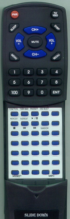 SANYO 645 009 0271 RB-D9 Custom Built Redi Remote