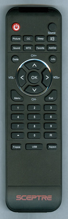 SCEPTRE E320BVHD Genuine OEM original Remote