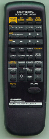SHARP RRMCG0004SJSA RRMCG0004SJSA Genuine OEM original Remote