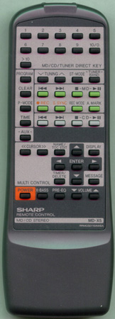 SHARP RRMCG0110AWSA Genuine OEM original Remote