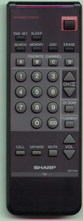 SHARP RRMCG0627CESA G0627CESA Genuine  OEM original Remote