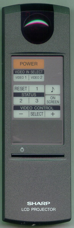 SHARP RRMCG0769CESA G0769SA Genuine  OEM original Remote