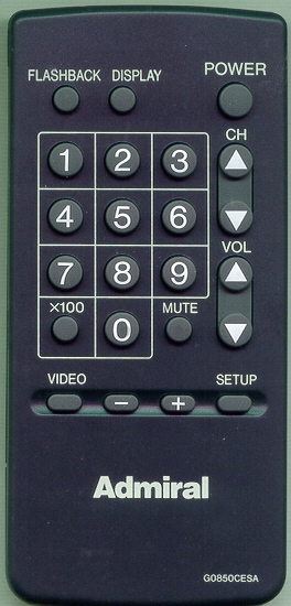 SHARP RRMCG0850CESA G0850CESA Refurbished Genuine OEM Remote
