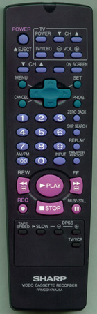 SHARP RRMCG1174AJSA RRMCG1174AJSA Genuine  OEM original Remote