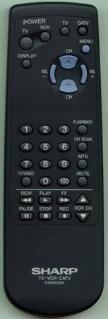 SHARP RRMCG1235CESA G1235CESA Genuine OEM original Remote
