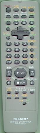 SHARP RRMCGA053WJSA RRMCGA053WJSA Genuine  OEM original Remote