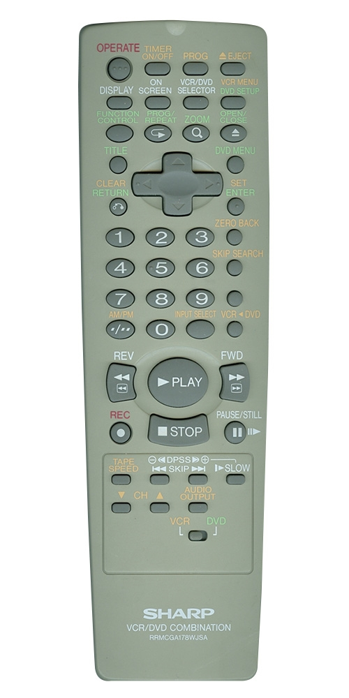 SHARP RRMCGA178WJSA RRMCGA178WJSA Refurbished Genuine OEM Remote