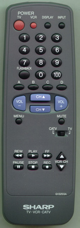 SHARP RRMCG1325CESA G1325SA Genuine OEM original Remote