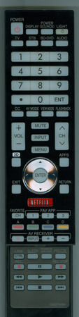 SHARP RRMCGA937WJSA GA937WJSA Genuine OEM original Remote