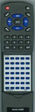 SHARP RRMCG0939CESA G0939CESA Custom Built Redi Remote
