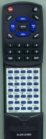 SHARP RRMCGA117AWSA Custom Built Redi Remote