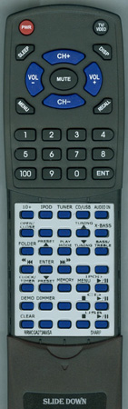 SHARP RRMCGA273AWSA Custom Built Redi Remote