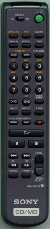 SONY 1-418-507-11 RMD37M Genuine  OEM original Remote