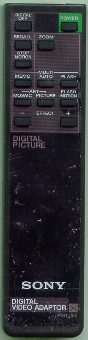 SONY 1-463-958-11 RMT190 Refurbished Genuine OEM Original Remote