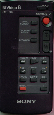 SONY 1-465-395-41 RMT502 Genuine OEM original Remote