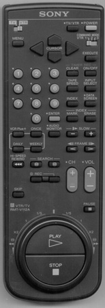 SONY 1-465-916-11 RMTV112A Genuine  OEM original Remote