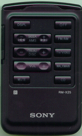 SONY 1-465-966-11 RMX25 Genuine  OEM original Remote