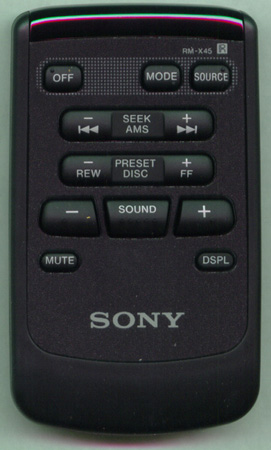 SONY 1-467-559-71 RMX45 WIRELESS Genuine OEM original Remote