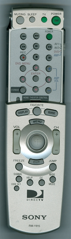 SONY 1-468-713-11 RMY815 Genuine  OEM original Remote